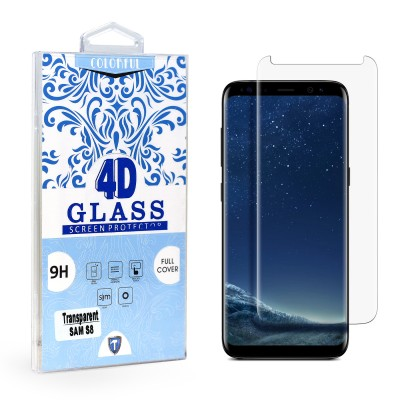 Full Edge Temper Glass Transparent - Galaxy S8